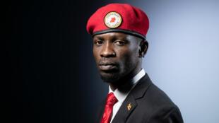 Bobi Wine, candidat à la présidentielle 2021 en Ouganda (2019).