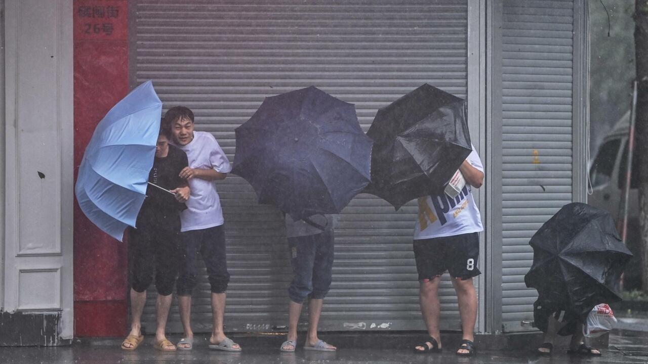 China cancels flights as Shanghai, coastal areas brace for Typhoon In-fa