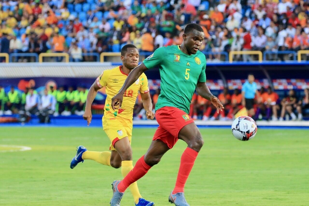 منتخب الكاميرون أضاع المركز الأول ليواجه نيجيريا في الدور المقبل. 29 يوليو 2019.