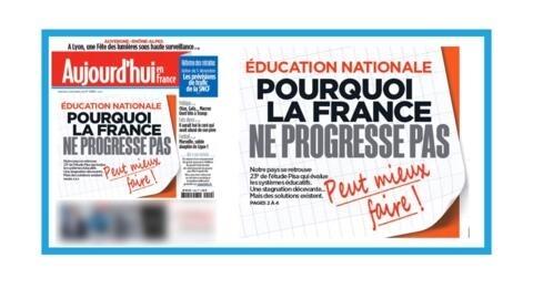 """France 24 informer :  """"La France, championne des inégalités à l'école"""" /"""