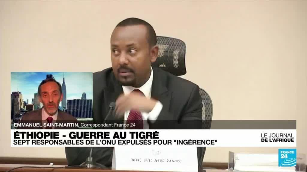 """2021-09-30 21:43 Antonio Guterres """"choqué"""" par l'annonce d'une expulsion d'Ethiopie de responsables de l'ONU"""