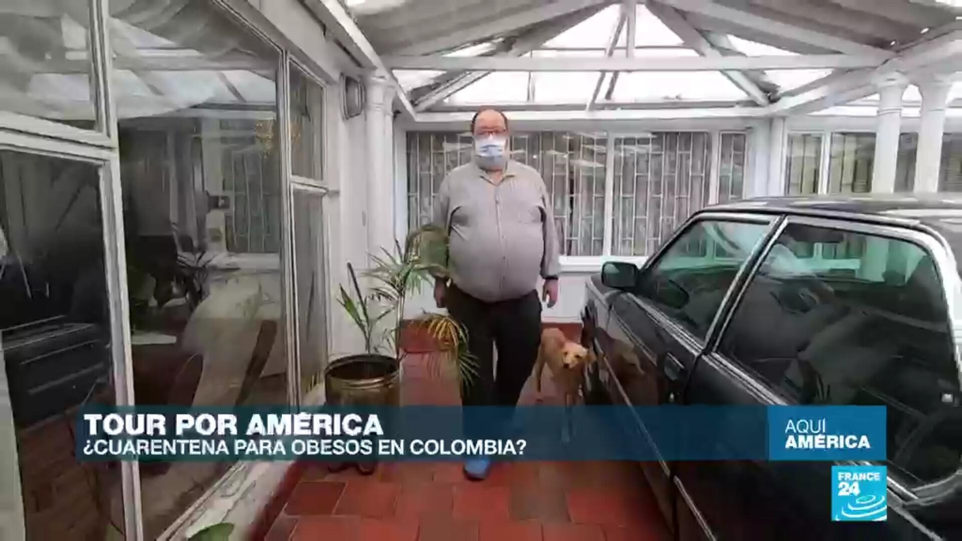 Polémica por aislamiento para personas obesas en Bogotá.