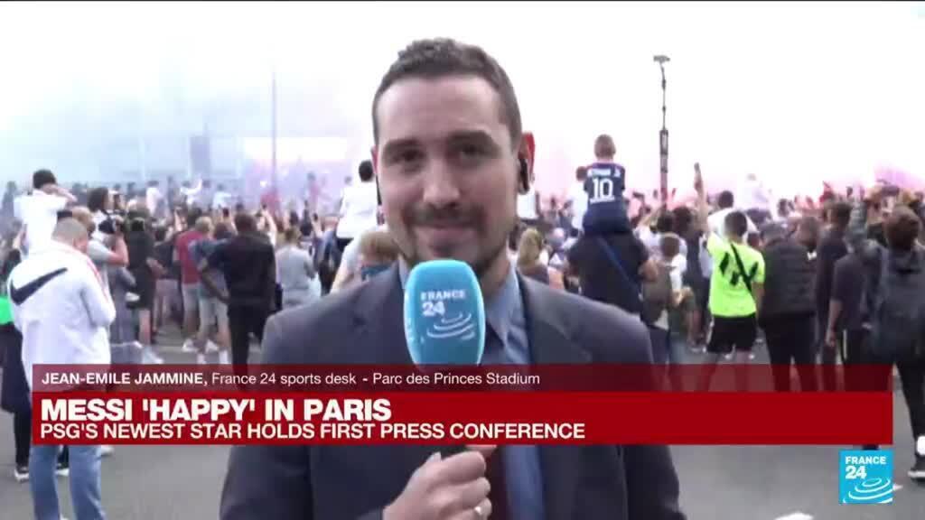 2021-08-11 12:01 Football: 'Messi makes football magic,' says PSG president Al-Khelaifi