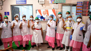 INDIA WORLD LARGEST VACCINE CAMPAIGN