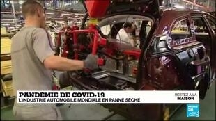 2020-05-04 18:11 Pandémie de Covid-19 : l'industrie automobile mondiale en panne sèche