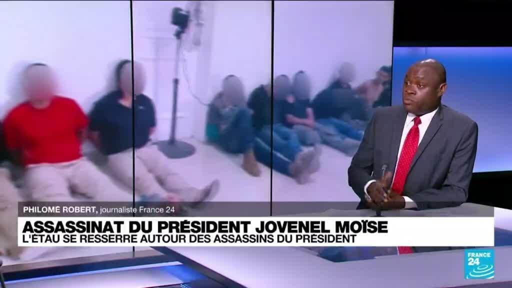 """2021-07-09 10:03 Mort de Jovenel Moïse : """"Ce crime est exceptionnel par sa gravité et ses conséquences"""""""