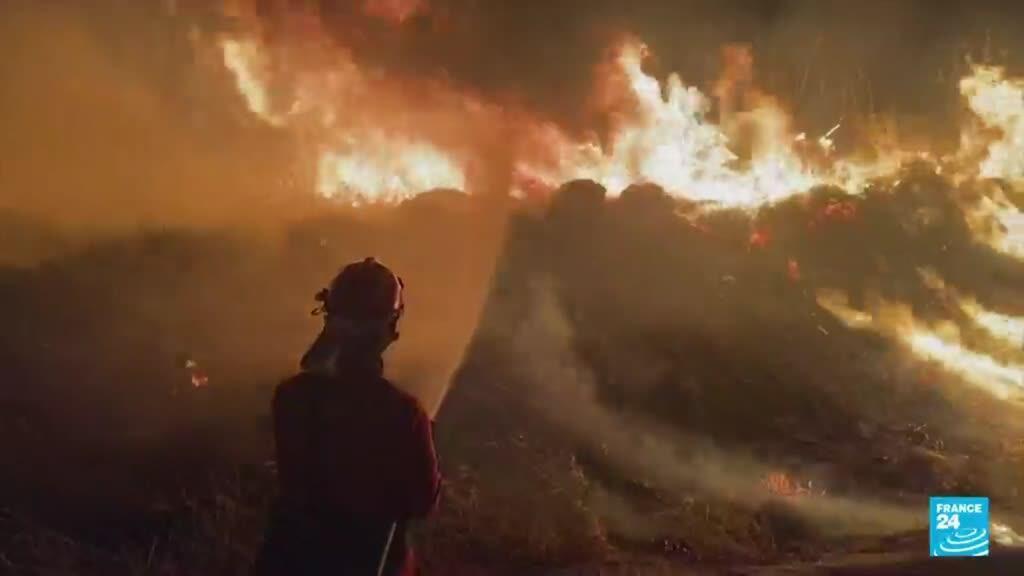 2021-08-18 04:08 Francia: incendios en región mediterránea entre los más graves de los últimos años