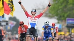 Mathieu Van der Poel stoked Dutch hopes by winning the Brabantse Pijl