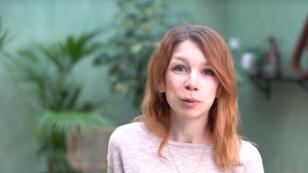 """Alexia Savey présente son concept de journée """"parcours d'éclosion""""."""