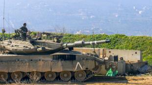 دبابة تابعة للجيش الإسرائيلي