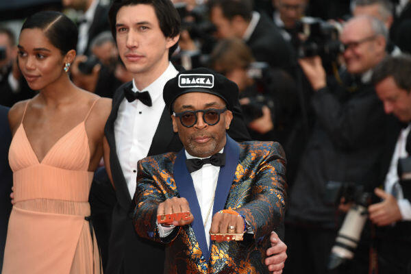 Spike Lee back on the red carpet in Cannes, 29 years after his last shot at the Palme d'Or.