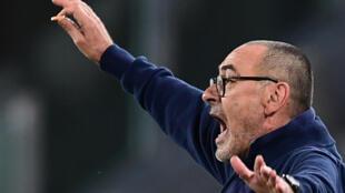 Juventus boss Maurizio Sarri has won the first league title in his 30-year coaching career.
