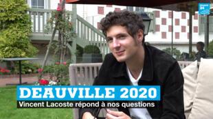 Deauville 2020. Vincent Lacoste.