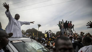 Adama Barrow, vainqueur lde la présidentielle gambienne.
