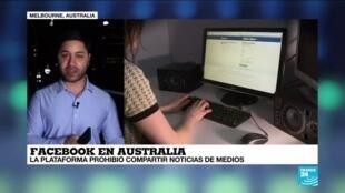 2021-02-18 18:05 Informe desde Melbourne: Medios de comunicación australianos bloqueadas por Facebook