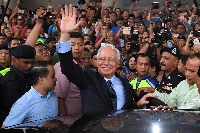 L'ancien Premier ministre Najib Razak, en septembre 2018.