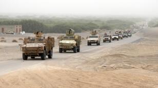 قوات موالية للحكومة المعترف بها دوليا تتجه نحو الحديدة، 13 يونيو/حزيران 2018