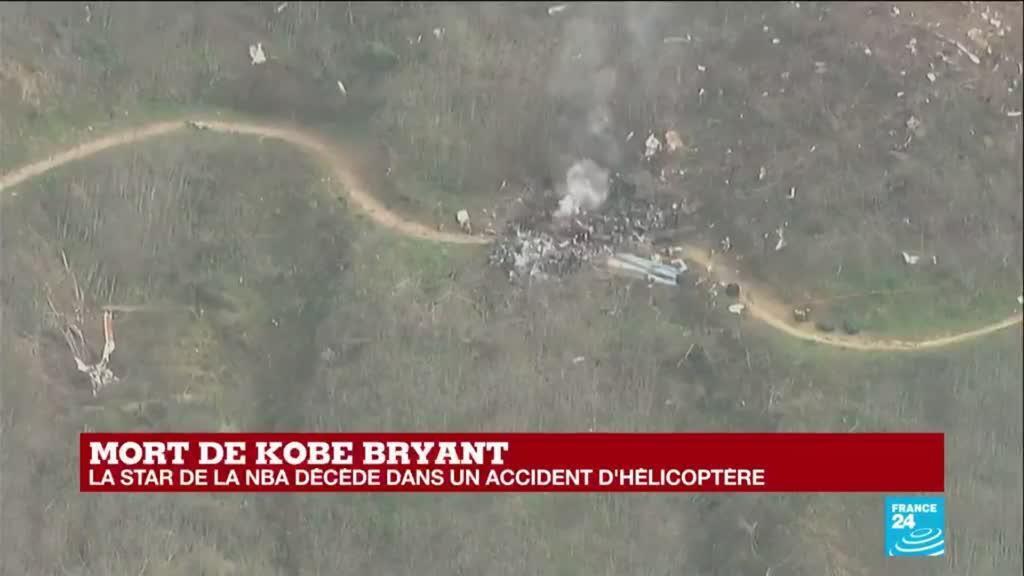 2020-01-26 22:00 La légende de la NBA Kobe Bryant est décédé dans un accident d'hélicoptère