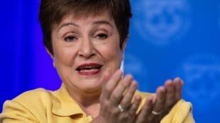 La directora gerente del FMI, Kristalina Georgieva, pide que se ayudea países pobres a enfrentar impacto de pandemia