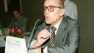 المؤرخ والمفكر التونسي محمد الطالبي في عام 2000