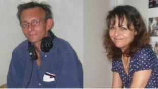 Claude Verlon et Ghislaine Dupont ont été assassinés dans le nord du Mali, le 2 novembre 2013.