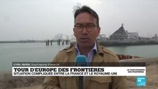 2020-06-11 09:03 Tour d'Europe des frontières : situation compliquée entre la France et le Royaume-Uni