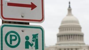"""L'administration américaine vivait son 12e jour de """"shutdown"""", le 2 janvier 2019, en raison d'un blocage au Congrès sur la loi budgétaire."""