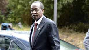 Burkina Faso's Blaise Compaoré International Donors Conference for Mali held in Brussels, on May 15