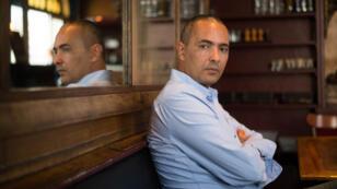 """L'écrivain Kamel Daoud, à Marseille, le 27 octobre 2014, lorsqu'il a reçu le prix François Mauriac pour """"Meursault, contre enquête""""."""