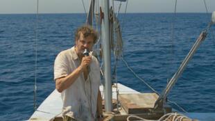 """Colin Firth dans le rôle du navigateur Donald Crowhurst, héros du film """"Le Jour de mon retour""""."""