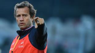 Fabien Galthié, sélectionneur du XV de France de rugby.