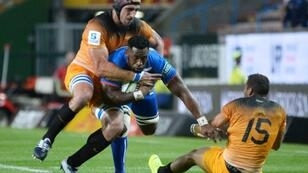 Siya Kolisi scored his first try of the season in Friday's victory over the Jaguares
