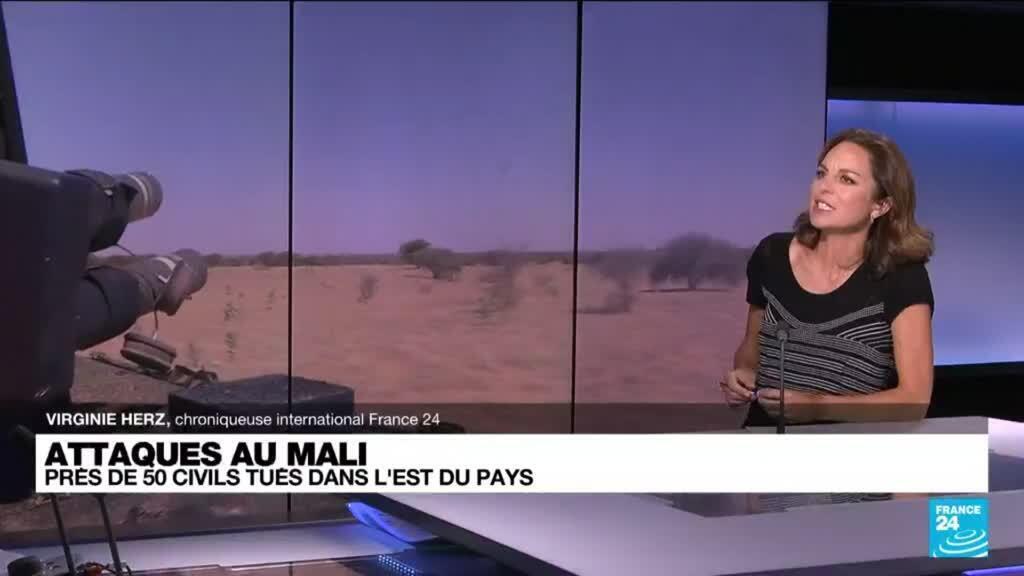 2021-08-09 16:03 Mali : près de 50 civils tués dans des attaques dans l'est du pays