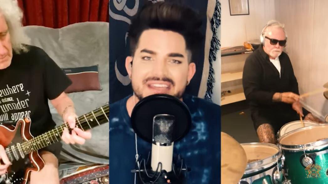 Le groupe de rock Queen et le chanteur Adam Lambert récoltent des fonds pour le personnel de santé en première ligne face au Covid-19.