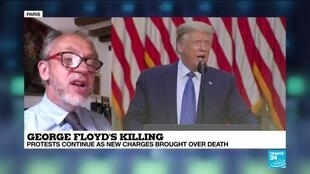 2020-06-04 17:00 Former Pentagon chief Mattis says Trump tries to divide US over George Floyd's death