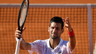 Serbian tennis great Novak Djokovic, seen here playing in Belgrade this month, is the country's most popular ambassador and the top-ranked player in the world