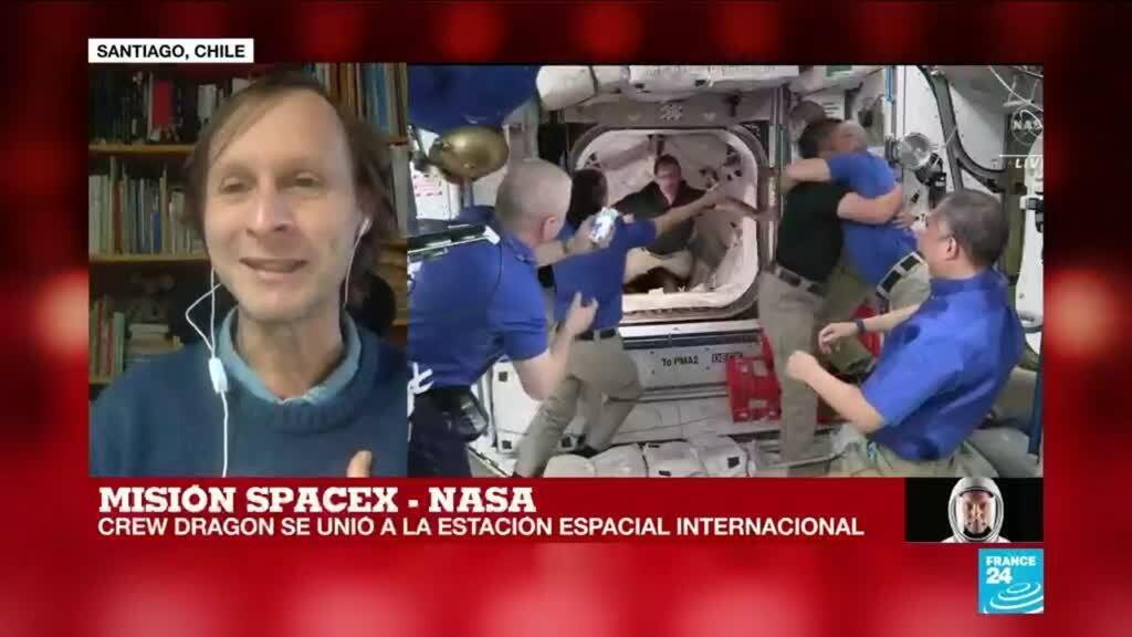"""2021-04-24 14:33 Diego Mardones: """"La cápsula y el cohete reutilizables cambian la forma de llegar al espacio"""""""