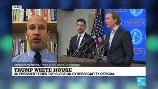 2020-11-18 16:04 Trump fires top US election cybersecurity official who defended vote