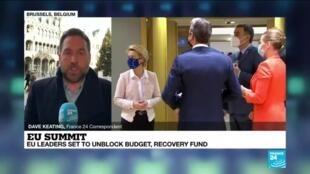 2020-12-10 14:02 EU summit: Meeting to focus on EU budget, Covid-19, Turkey, climate, Brexit