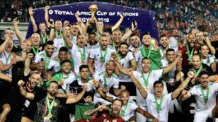 L'Algérie a remporté la Coupe d'Afrique des nations 2019.