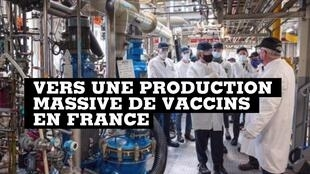 Towards massive vaccine production in France?