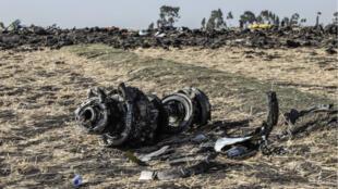 Les deux boîtes noires du Boeing 737 d'Ethiopian Airlines qui s'est écrasé dimanche après son décollage d'Addis Abeba ont été retrouvées lundi 11 mars.