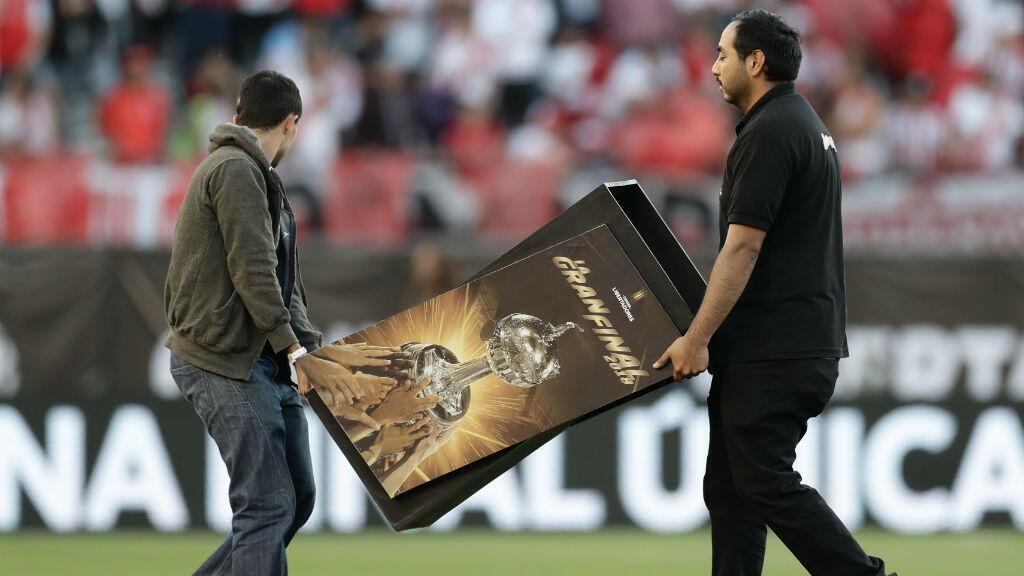 La date de la finale retour de la Copa Libertadores n'a toujours pas été définie.