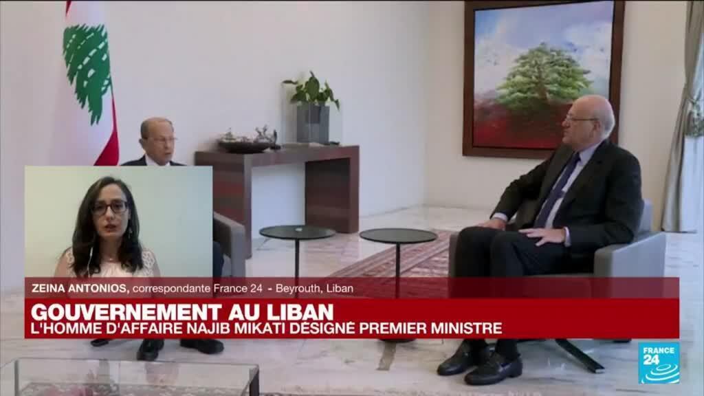 2021-07-26 16:01 Liban : l'homme d'affaire Najib Mikati désigné pour former un nouveau gouvernement