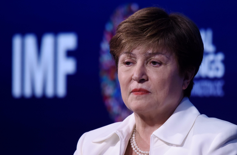 La directrice générale du FMI Kristalina Georgieva est soupçonnée d'irrégularités. Photo prise à Washington le 15 octobre 2019