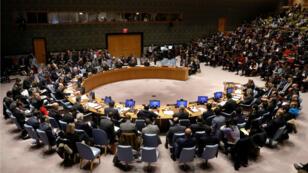 El Consejo de Seguridad de la ONU reunido en Nueva York.