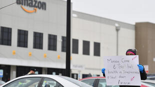 Amazon warehouses have been the site of worker protests as the company's role to meet consumer demands during the pandemic has risen