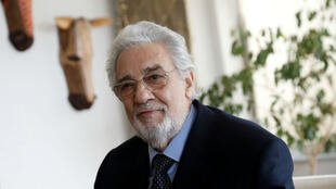 El cantante de ópera Placido Domingo en un evento en la Manhattan School of Music en Nueva York, EE. UU., 11 de mayo de 2018.