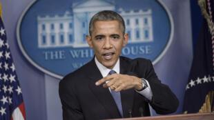 Le président américain Barack Obama le 19 décembre 2014, à la Maison Blanche.