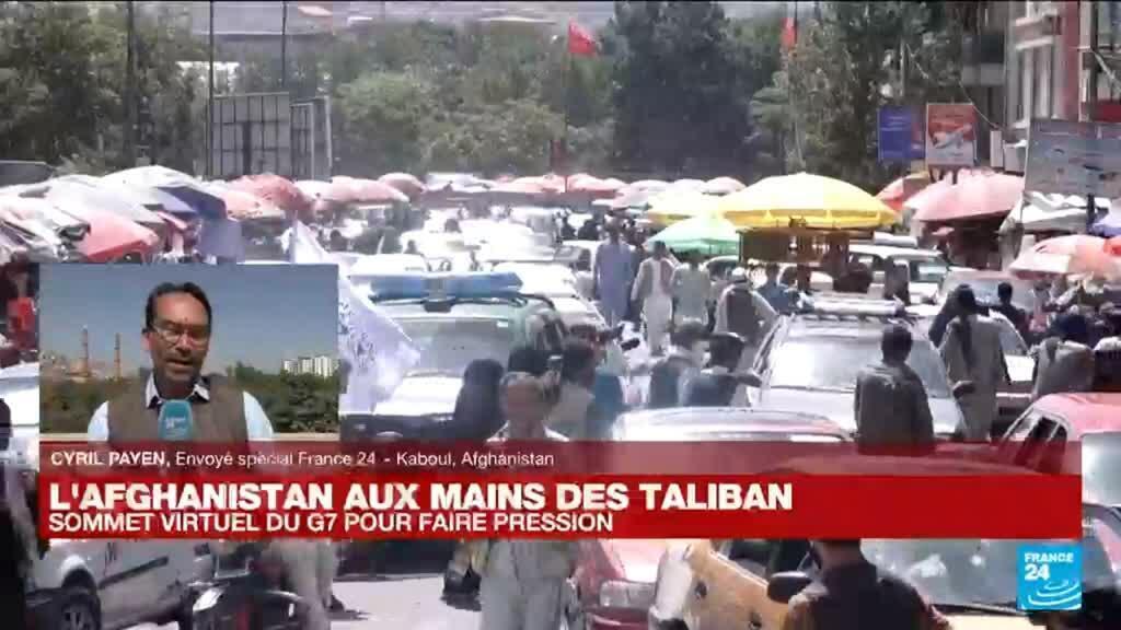 2021-08-24 07:02 Afghanistan : le rythme des évacuations s'accélère à l'aéroport de Kaboul